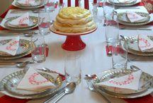 Nakrycie stołu / Pomysły z blogów Redaktorów Magazynu kulinarnego GRYZ