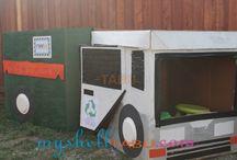 Garbage, recycling & yard carts, oh my! / by Lara Pinnix