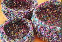 Rag baskets