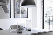 Grey Dining Interiors