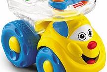 Donavons Favorite toys  / by Sondra Claflin