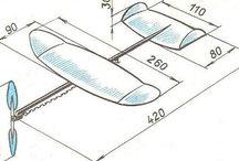 rubber plane
