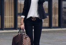 Classy casual fashion