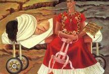 Life of Frida Kahlo / FRIDAS KUNST