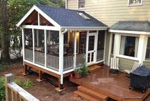 Dream back yard and screened porch