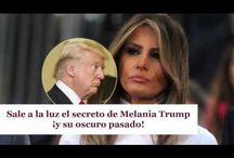 Sale a la luz el secreto de Melania Trump ¡y su oscuro pasado!