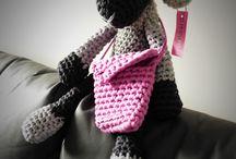 TOJSOUTOJS / Háčkované a pletené hračky, doplňky, dekorace... Crochet and knitted toys and decoration...