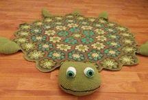 haken schildpad vloerkleed