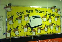 New Years board