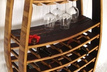 Wine Barrel Furniture & Fixtures / Wine Country Furniture made from recycled wine barrels