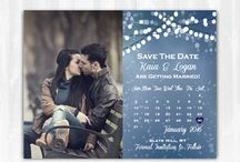 Engagement/save the dates/wedding / by Katie Boggs