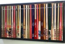 Kevin's Baseball Bat Room Ideas / by Debbie Bechtel