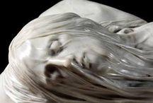 Marble sculpture shoot
