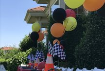 The cars party theme, hot whells party, outdoor kids party / Kids party, cars party, outdoor kids party, hot wheels party