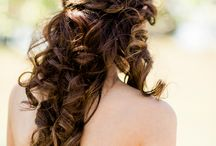 Southern Style | Hair / Our best inspiration for wedding day hair: updos, half up/half down, and curls galore! / by Southern Weddings Magazine