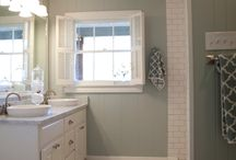 Bathroom makeover / by Amber Dickey