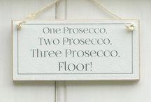 Prosecco signs