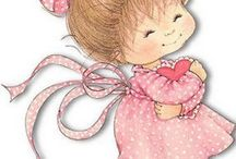 Cute Kids ~ Whimsical / cute artwork of kids / by Beth Lewis