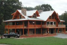 Beautiful Log Homes / Handcrafted Log and Timber Homes.