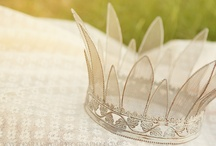 tiaras and crowns / by Sally Young Owens