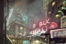Fantasy, sci-fi / Képek az asztali szerepjátékokhoz! Hangulati elemek, térképek, helyszínek!