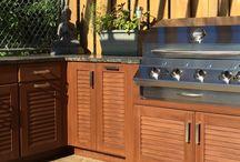 Outdoor Living! 100% weatherproof cabinets