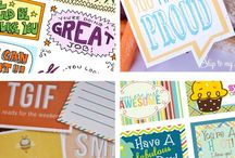 Inspirations/Printables