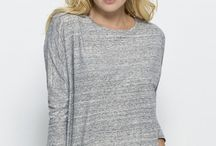 Long Sleeve Tees / Need a little extra warmth? These long sleeve tees are fair trade and made from organic cotton or other eco-friendly fibres. Made to warm your body and heart!