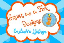 Smart As A Fox Designs #3 / Exclusive Listings from Smart As A Fox Designs