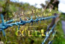 Let Me Show You 'Round A Country Girl's World❤ / by Caty Killian