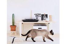 BANCS - BENCHES / Toutes nos inspirations pour créer un banc avec les pieds de table modulables TIPTOE. Pour la chambre, l'entrée ou même l'extérieur créez un banc au style industriel avec tout type de plateau (bois, objet de récup).