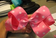 Hair Bows / by Stacie Cooper