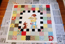 Panel Quilts / Quilts made from pre printed panels