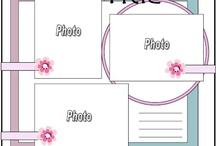 Scrap booking layouts