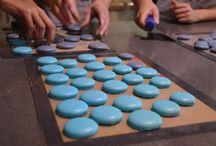 m a c a r o n . b a s i c s / How to make Macrons, step by step, and special tips