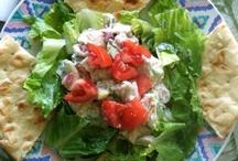 Chicken, Egg, Pasta, Potato and Tuna Salads