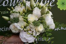 Букет. Флористика / Весільна флористика. Букет нареченої. Магазини квітів. Букети