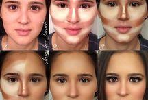 Contorno de maquillaje