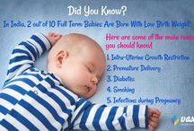Causes Behind Low Birth Weight / Babies who are born with less than 5 lbs. are said to have a low birth weight. Know the causes behind Low Birth Weight.
