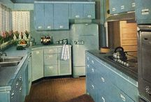 Vintage home interiors / by Valerie Truax