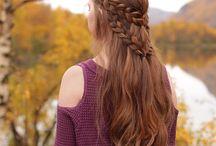 πλεγμένα μαλλιά και όχι μόνο πλεκτα