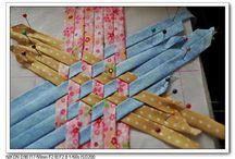 japonský meshwork patchwork