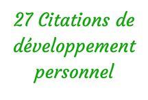 Entreprenariat et Développement personnel