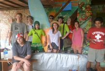 Teen Retreats / Our groups of teen world schoolers as they learn with us on our retreats!