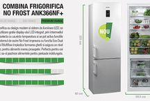 Aparate frigorifice la preturi reduse