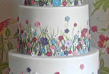 flower cake decoration