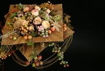 bó hoa có khung