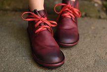 bottines, shoes, différents models