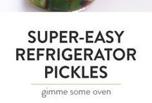 FERMENTING & PICKLING! / All things pickled and fermented ~ from tried and true favorites to new and creative recipes.