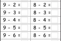 scăderea numerelor naturale până la 10